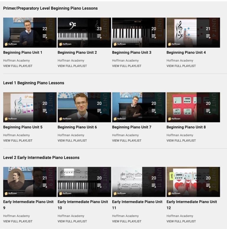 Hoffman Academy Screenshot