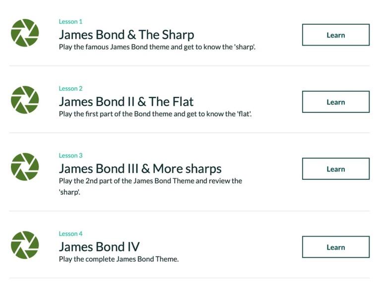 Skoove James Bone Interface