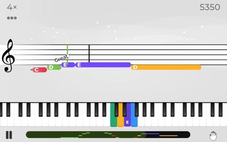 Yousician Keyboard