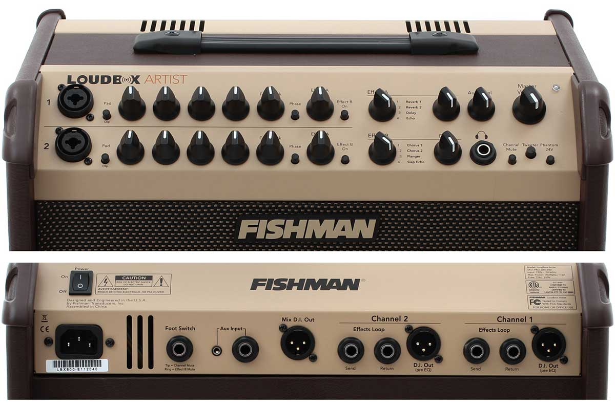 Best Acoustic Guitar Amp - Fishman Loudbox Artist