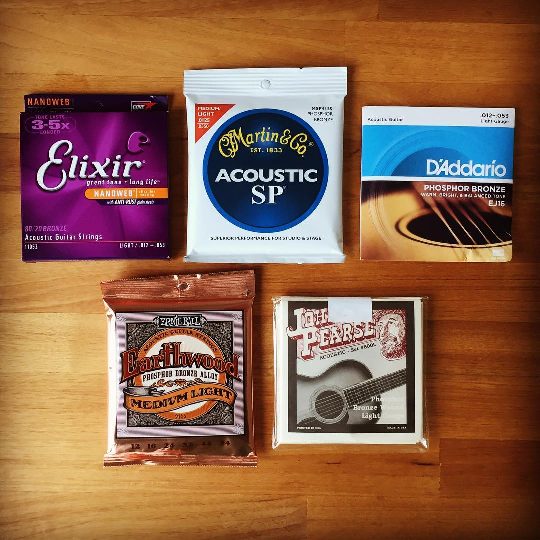5 Best Acoustic Guitar Strings