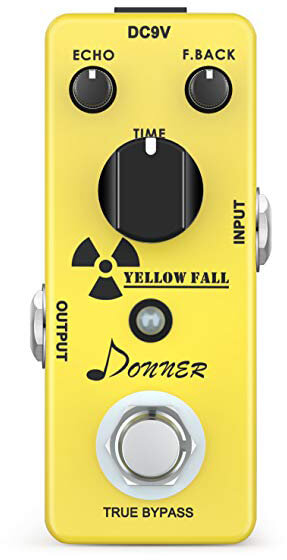 Best Delay Pedal - Donner Yellow Fall
