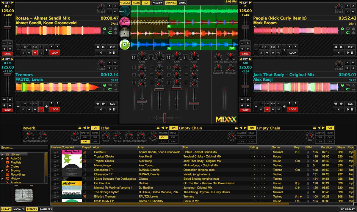 Best DJ Software - Mixxx Review