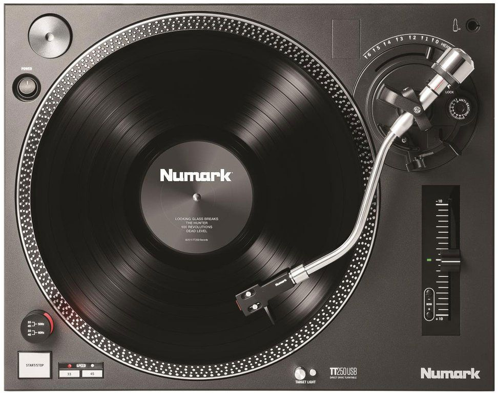 Best DJ Turntable - Numark TT250USB