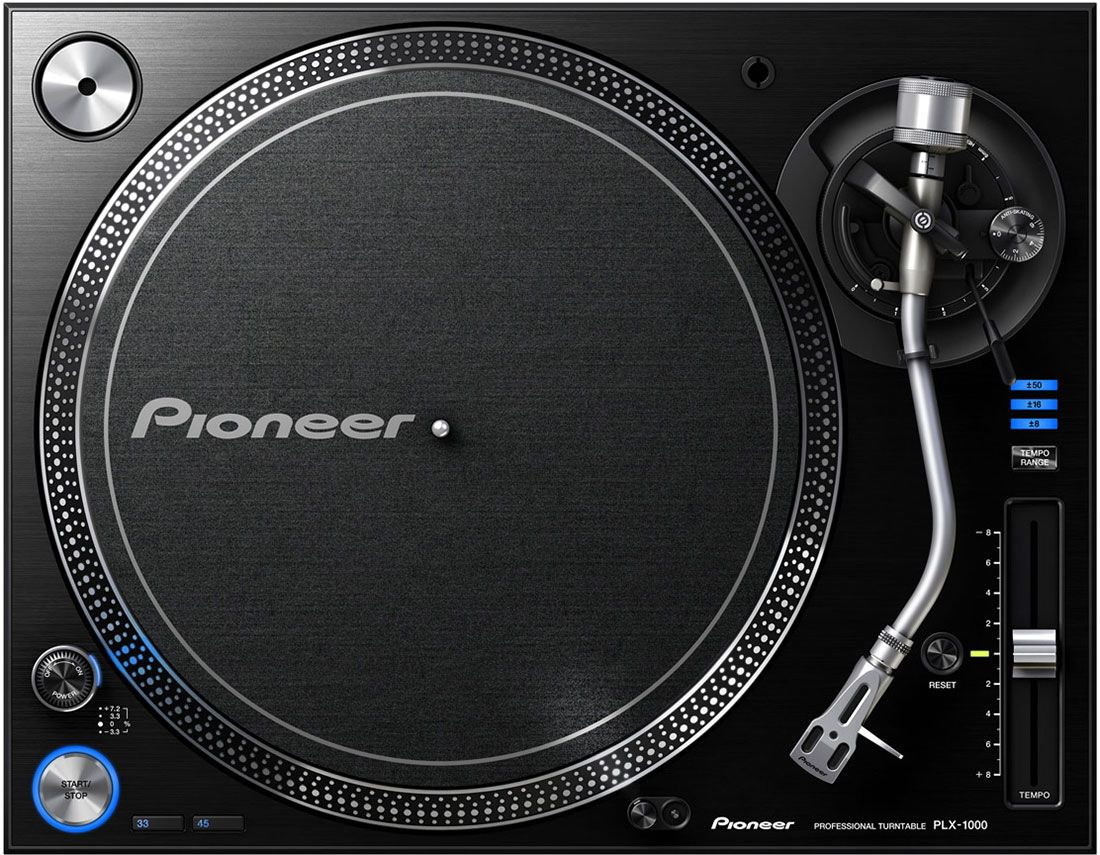 Best DJ Turntable - Pioneer PLX-1000