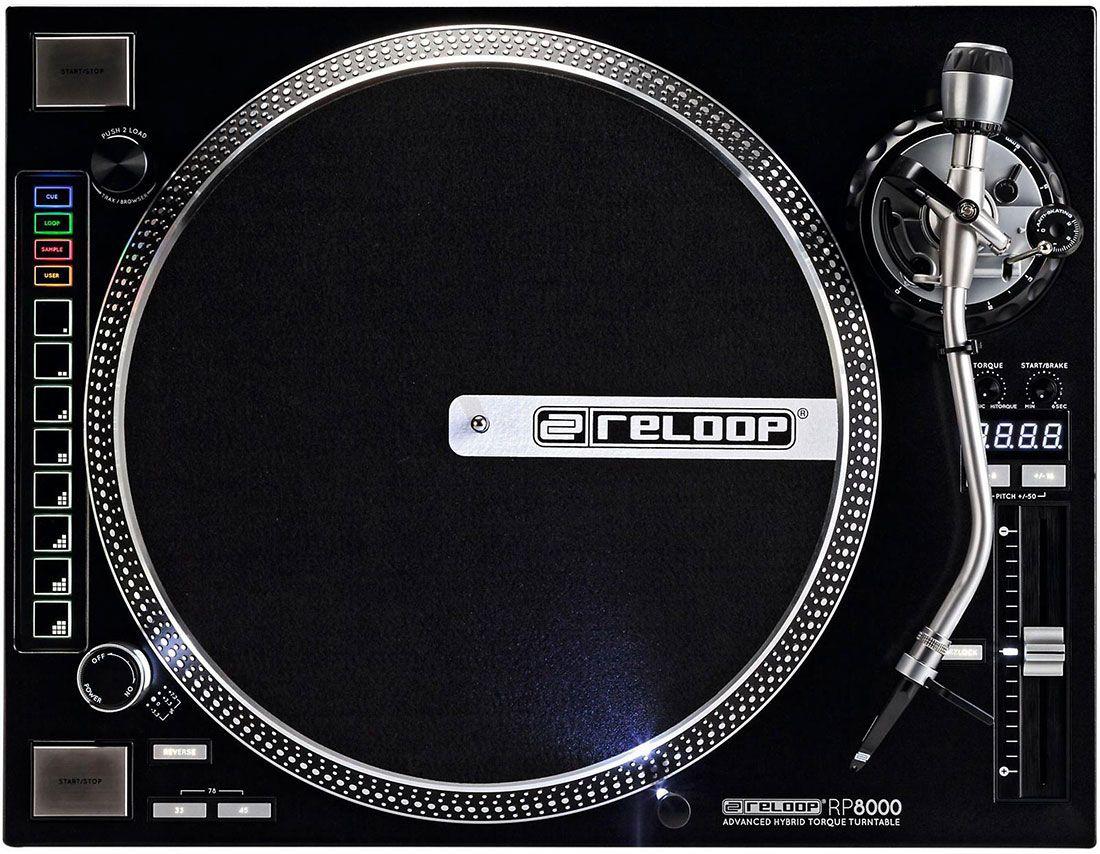 Best DJ Turntable - Reloop RP-8000