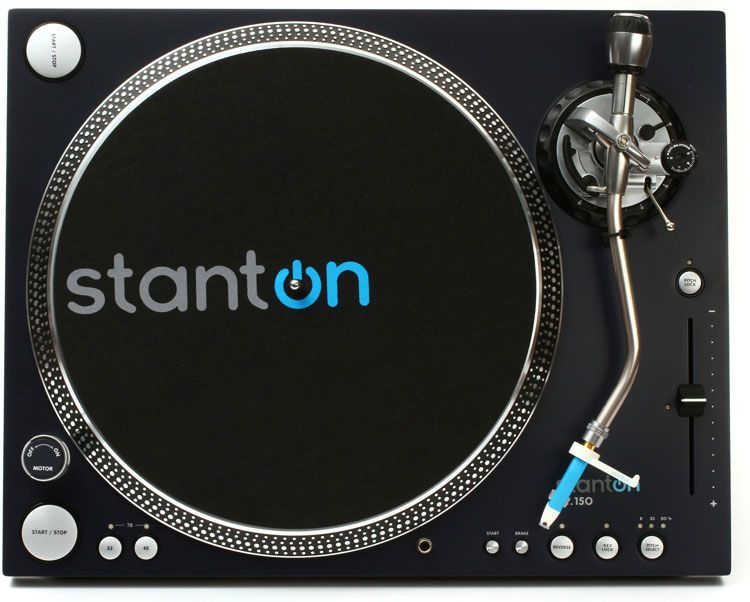Best DJ Turntable - Stanton ST-150