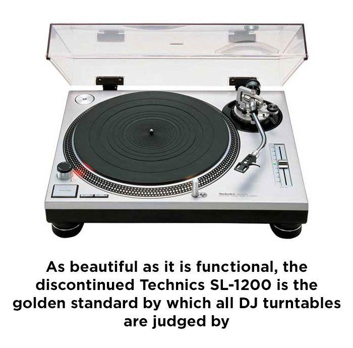 Best DJ Turntable - Technics SL-1200MK2