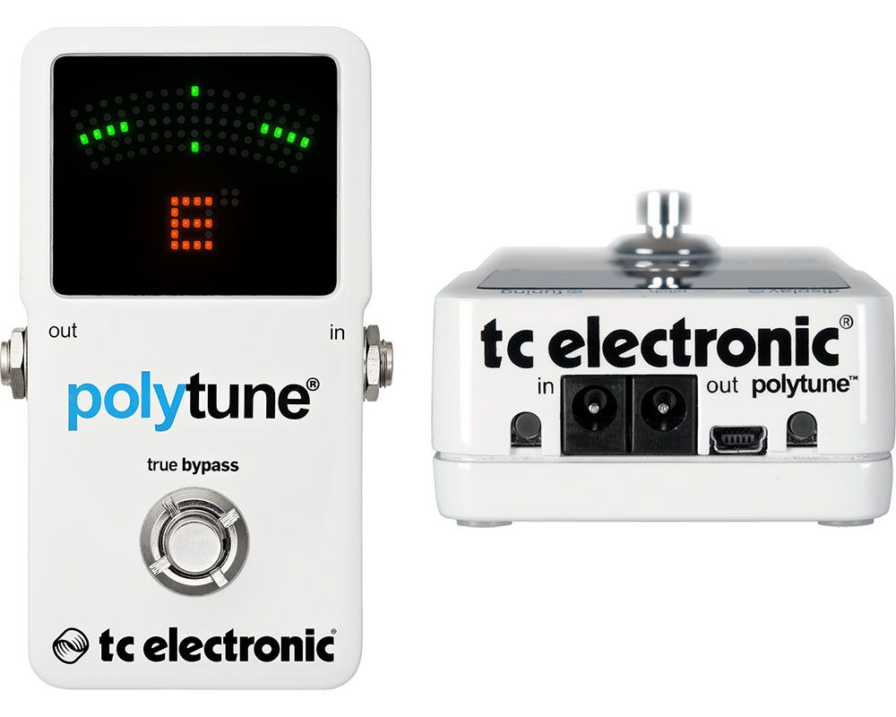 Best Guitar Tuner - TC Electronic PolyTune 2
