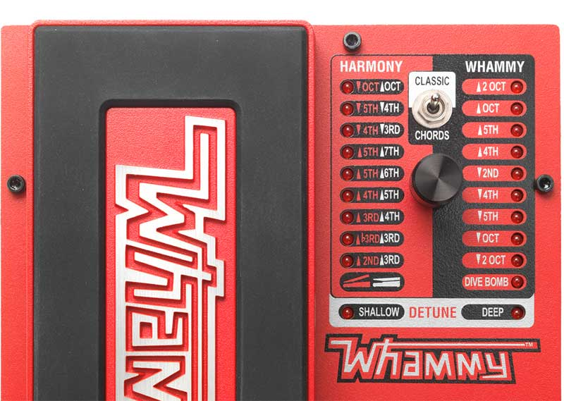 Best Octave Pedal - DigiTech Whammy