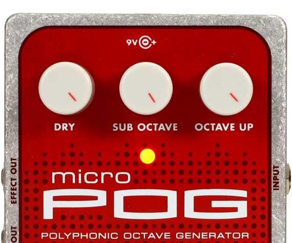 Best Octave Pedal - Electro-Harmonix Micro POG