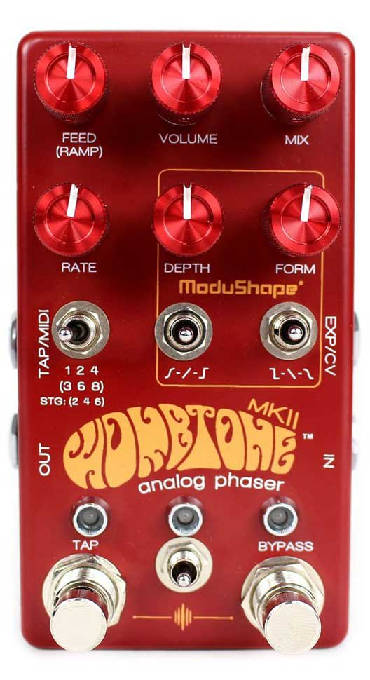 Best Phaser Pedal - Chase Bliss Audio Wombtone MKII