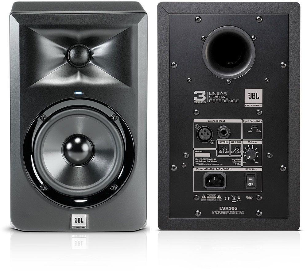 Best Studio Monitors - JBL LSR305