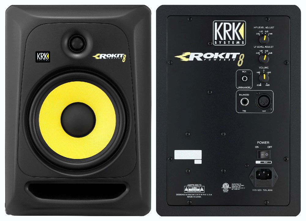 Best Studio Monitors - KRK Rokit 8
