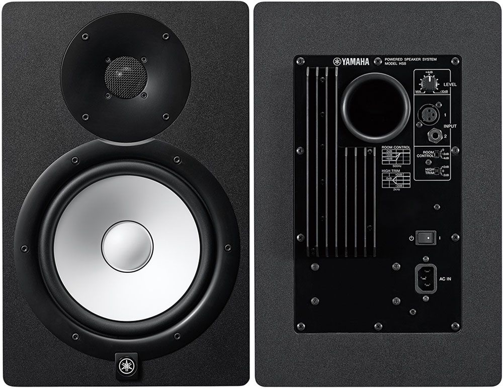 Best Studio Monitors - Yamaha HS8