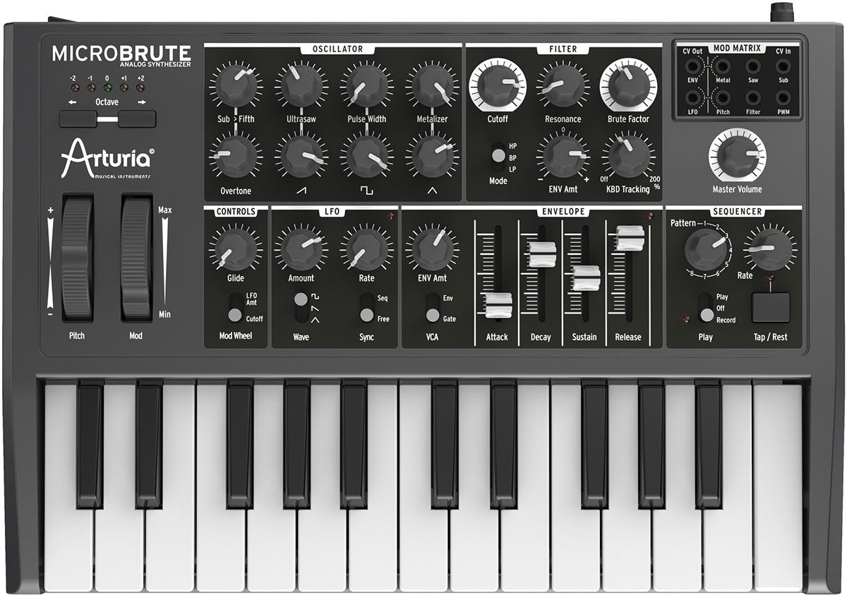 Best Synthesizer - Arturia MicroBrute