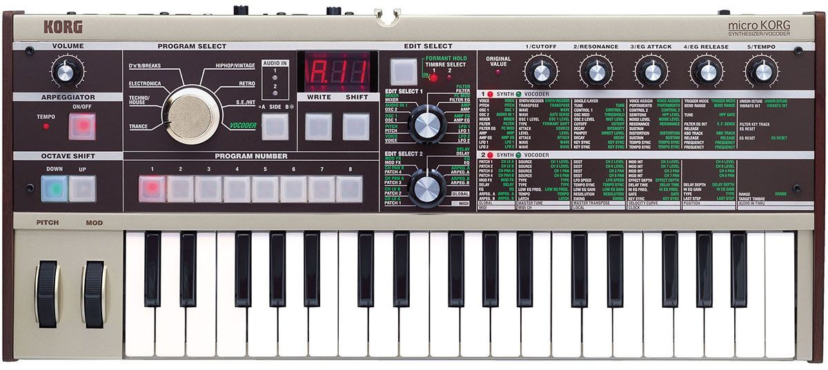 Best Synthesizer - Korg microKorg