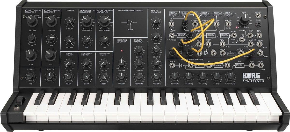 Best Synthesizer - Korg MS-20 Mini