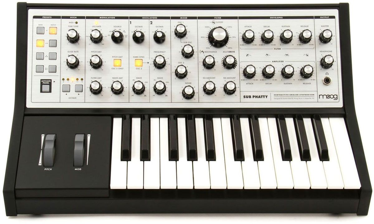 Best Synthesizer - Moog Sub Phatty