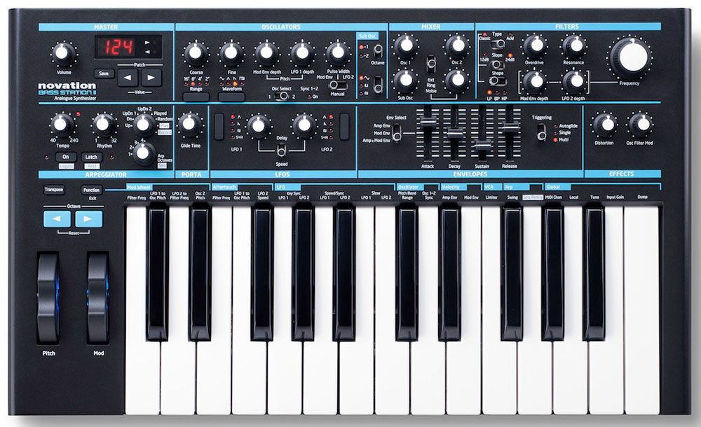 Best Synthesizer - Novation Bass Station 2