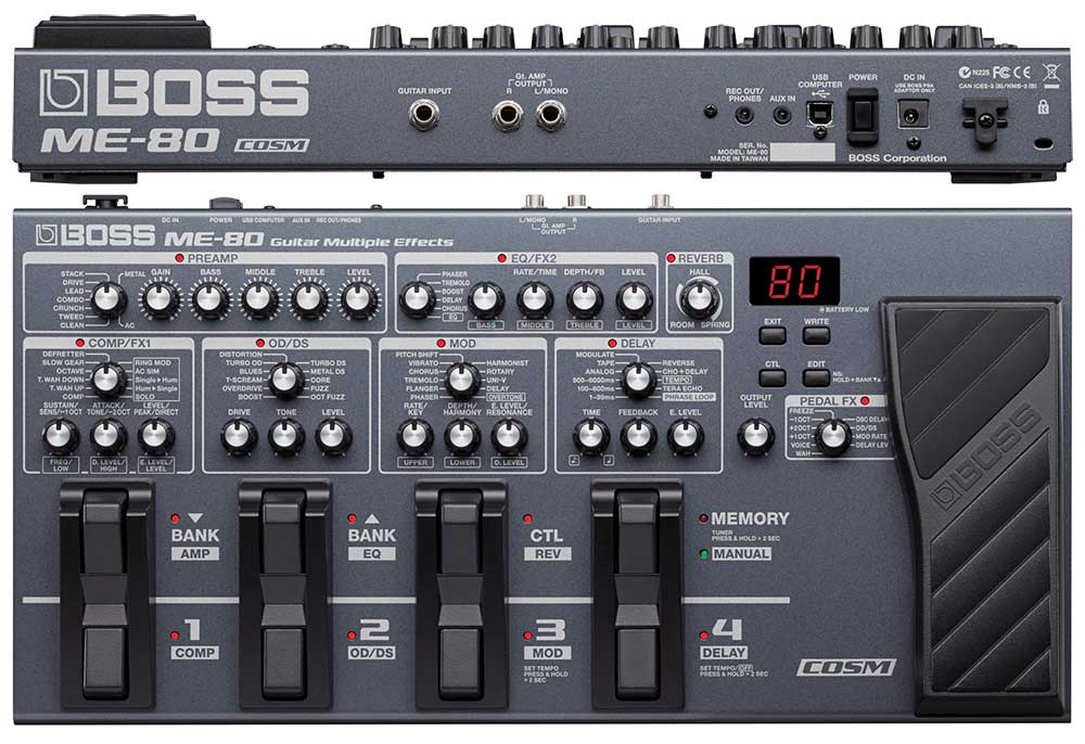 Boss ME-80 Review