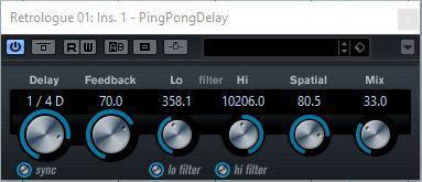 Cubase Ping Pong Delay