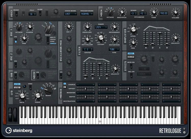 Cubase Retrologue