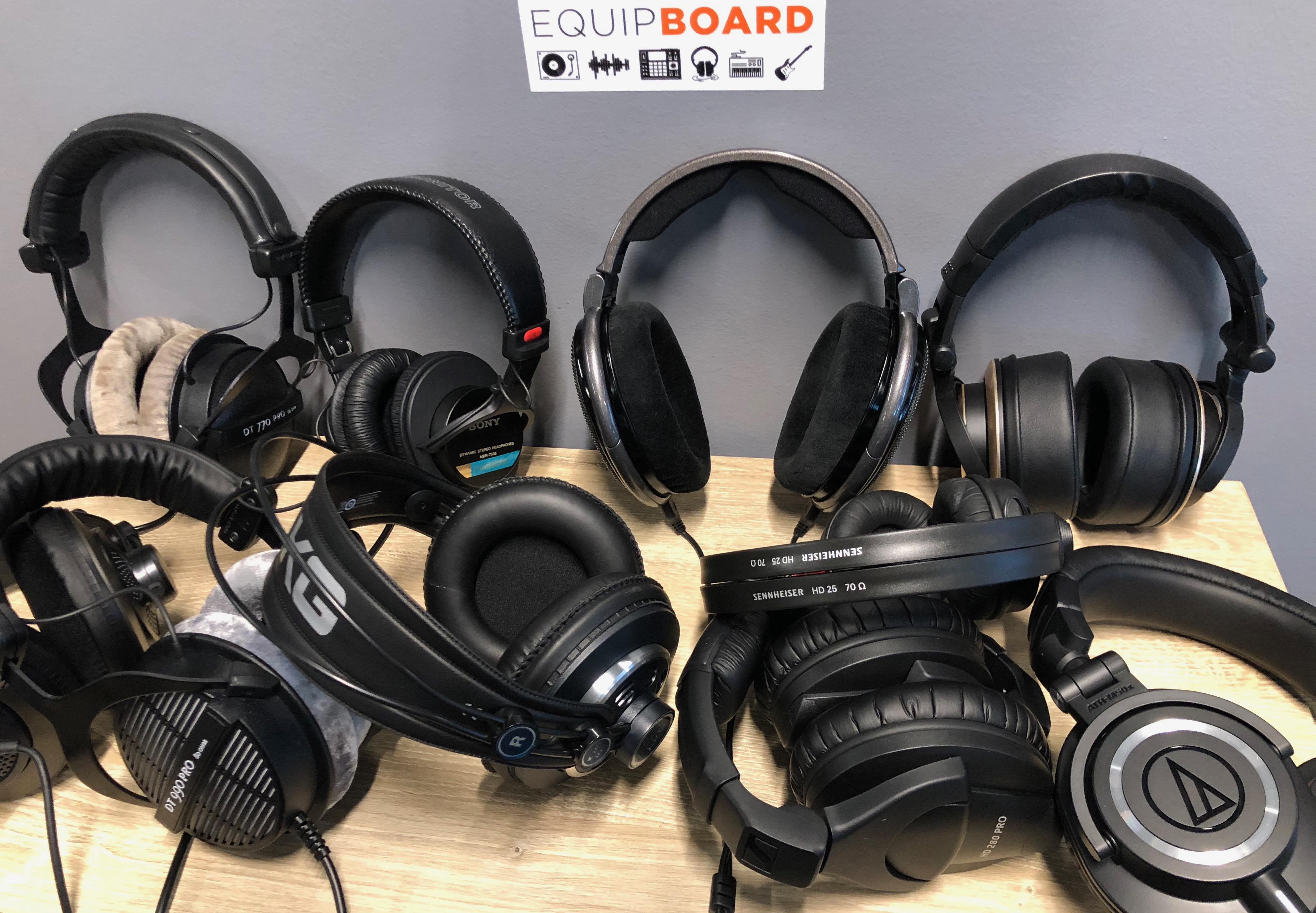 10 Best Studio Headphones for Production, Mixing & Mastering