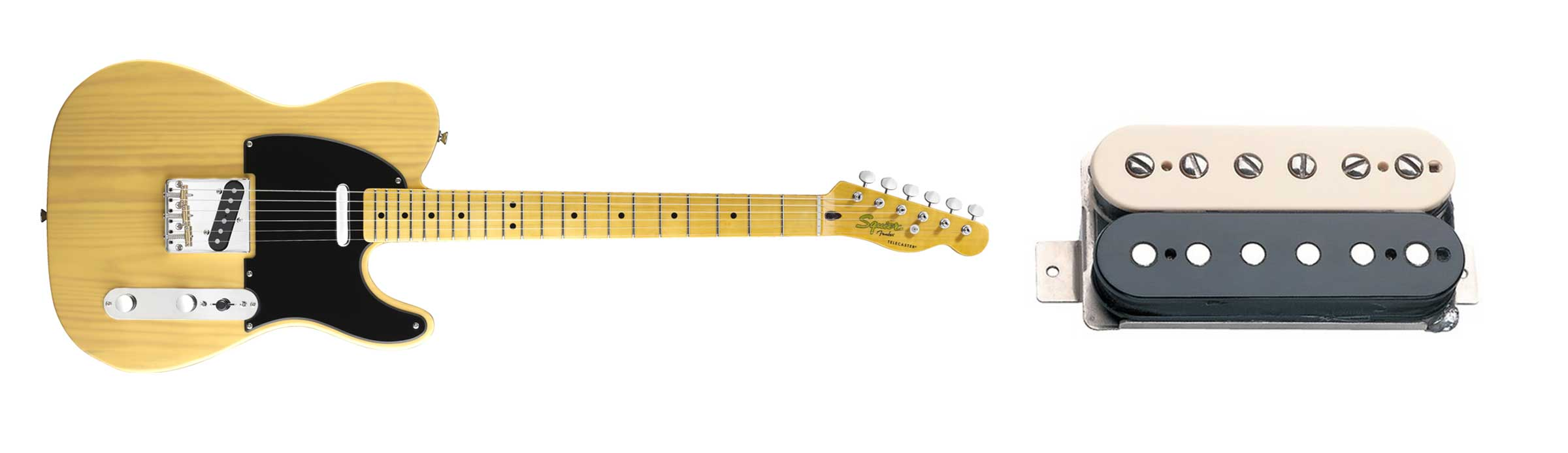 Fender Squier Classic Vibe and Seymour Duncan