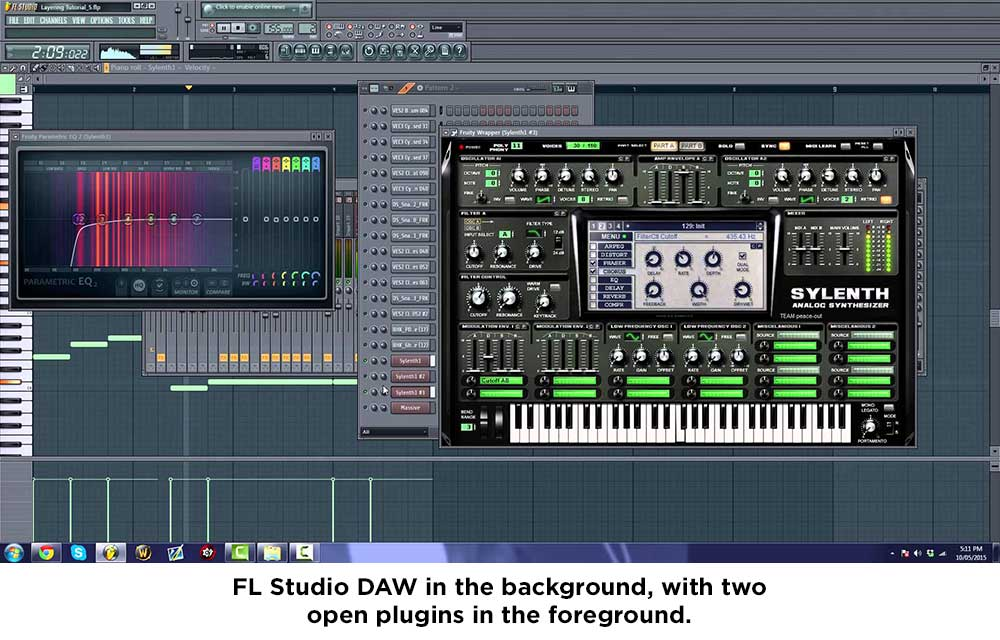 DAW with open plugins