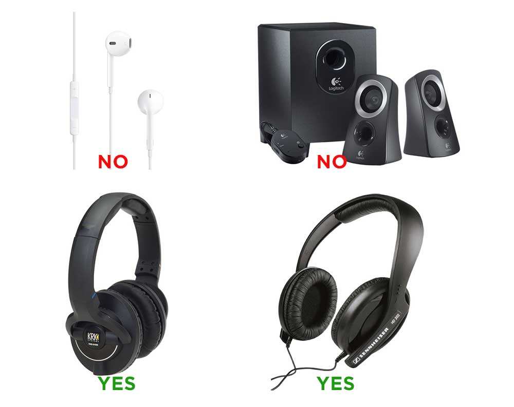 headphones for electronic music