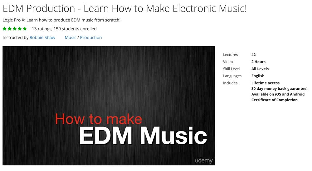 how to learn EDM production