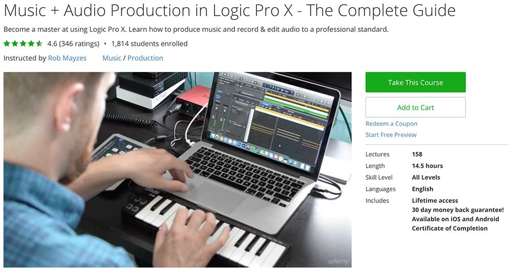 How to learn Logic Pro X