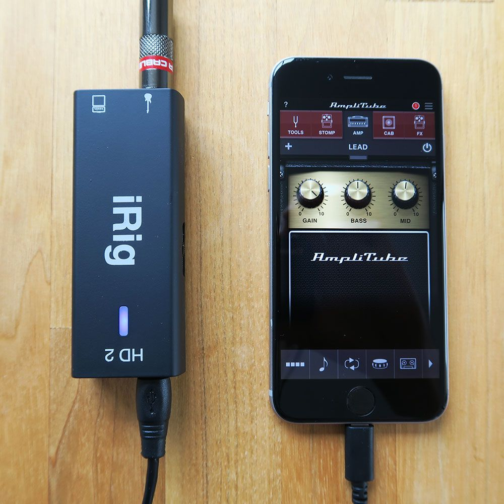 iRig HD 2 iPhone