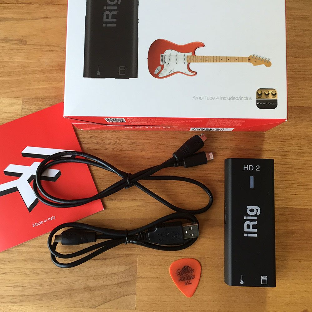iRig HD 2 Unboxing