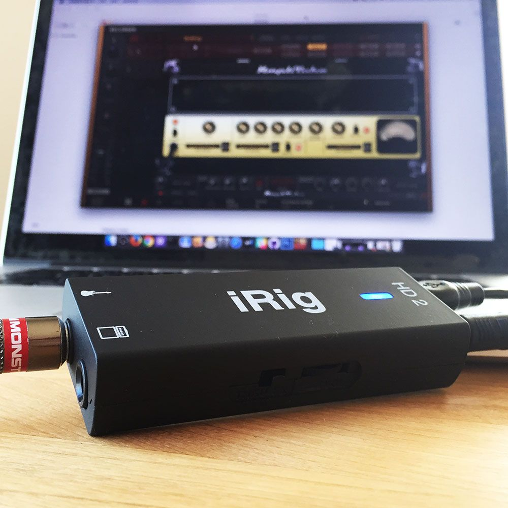 iRig HD 2 with AmpliTube