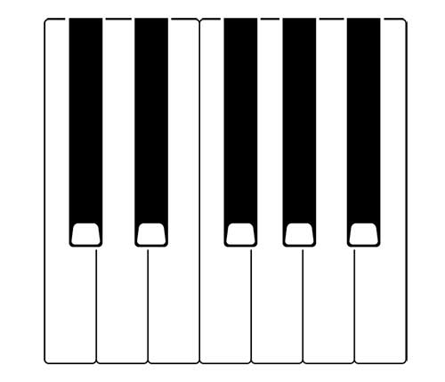 keyboard octave