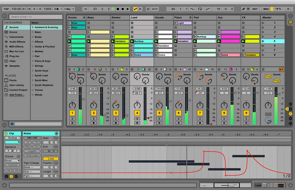 is Ableton Live good for electronic music