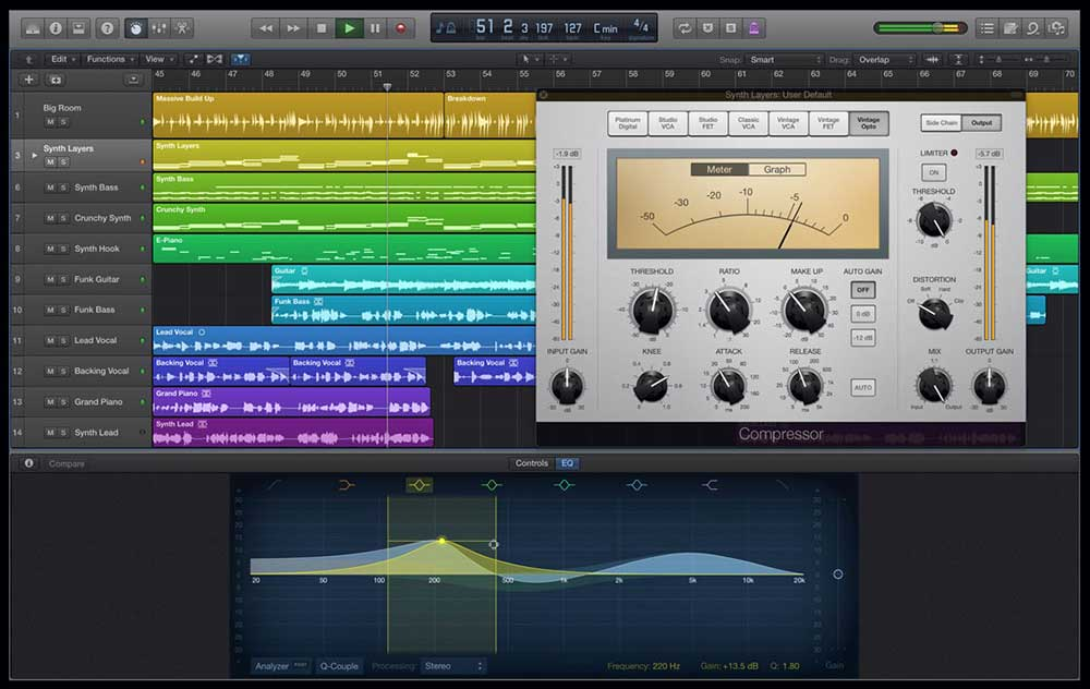 is Logic Pro good for electronic music
