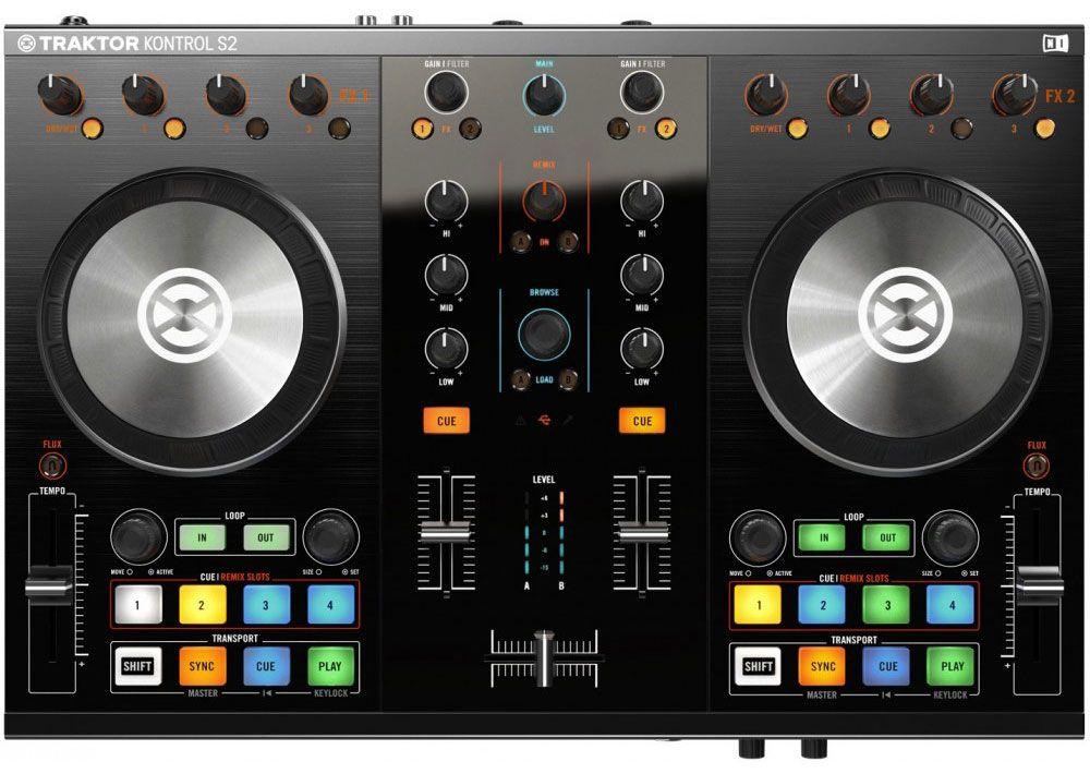 Best DJ Controller - Native Instruments Traktor Kontrol S2 MK2