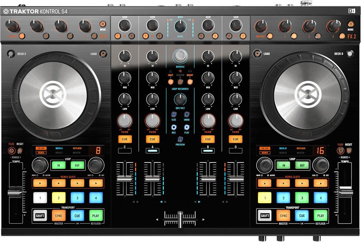 Best DJ Controller - Native Instruments Traktor Kontrol S4 MK2