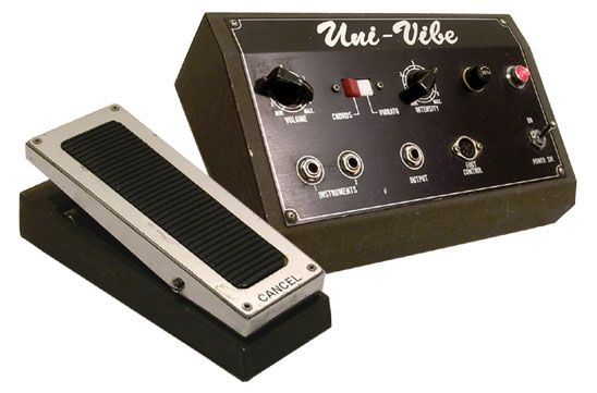 The original Shin-Ei Uni-Vibe pedal