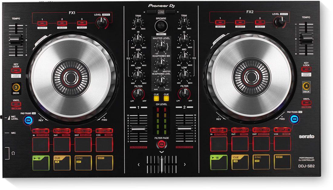 Best DJ Controller - Pioneer DDJ-SB2