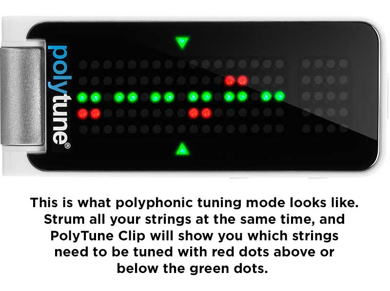 PolyTune Clip polyphonic tuning