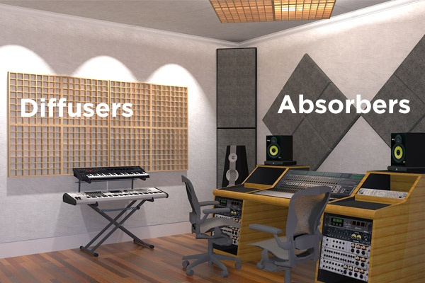 Room Treatment - Diffusers and Absorbers