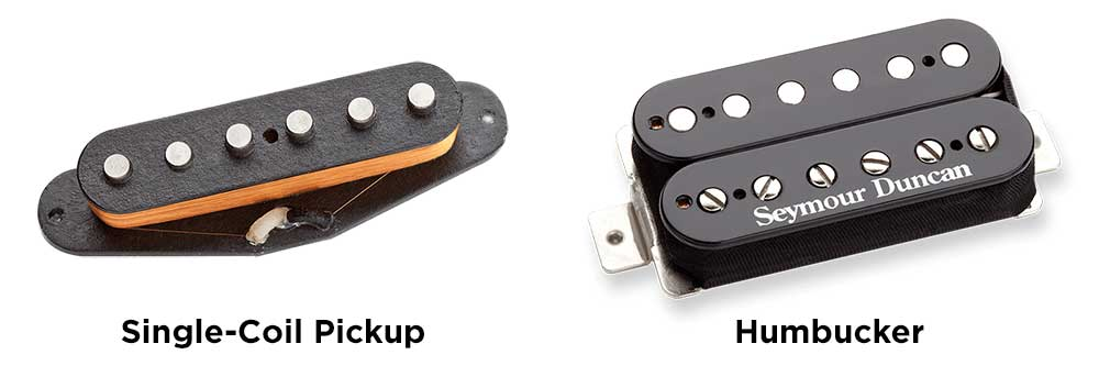 Single-Coil Pickup vs. Humbucker