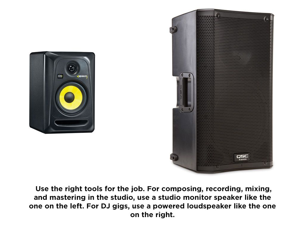dj speakers speaker studio powered monitors pro vs pa setups equipboard