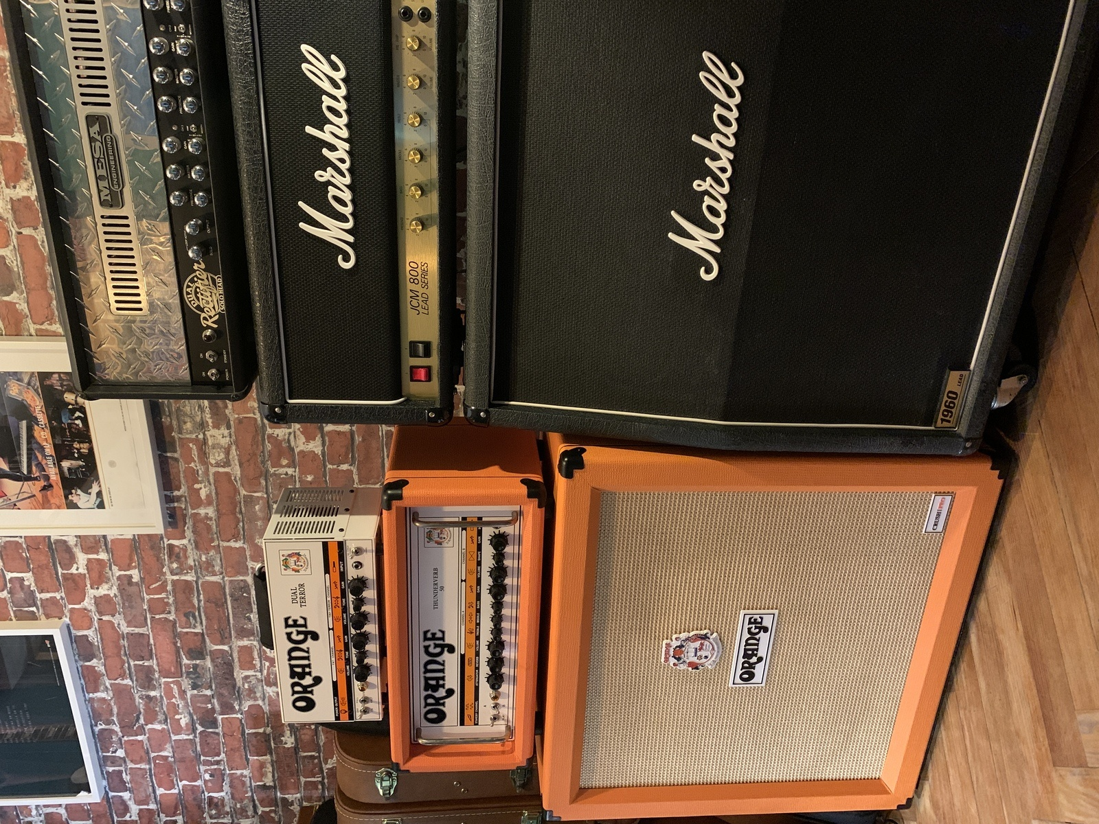 Photo of Orange Amplifiers Thunderverb 50 Series TH50HTC 50W Tube Guitar Amp Head and more gear in a guitar