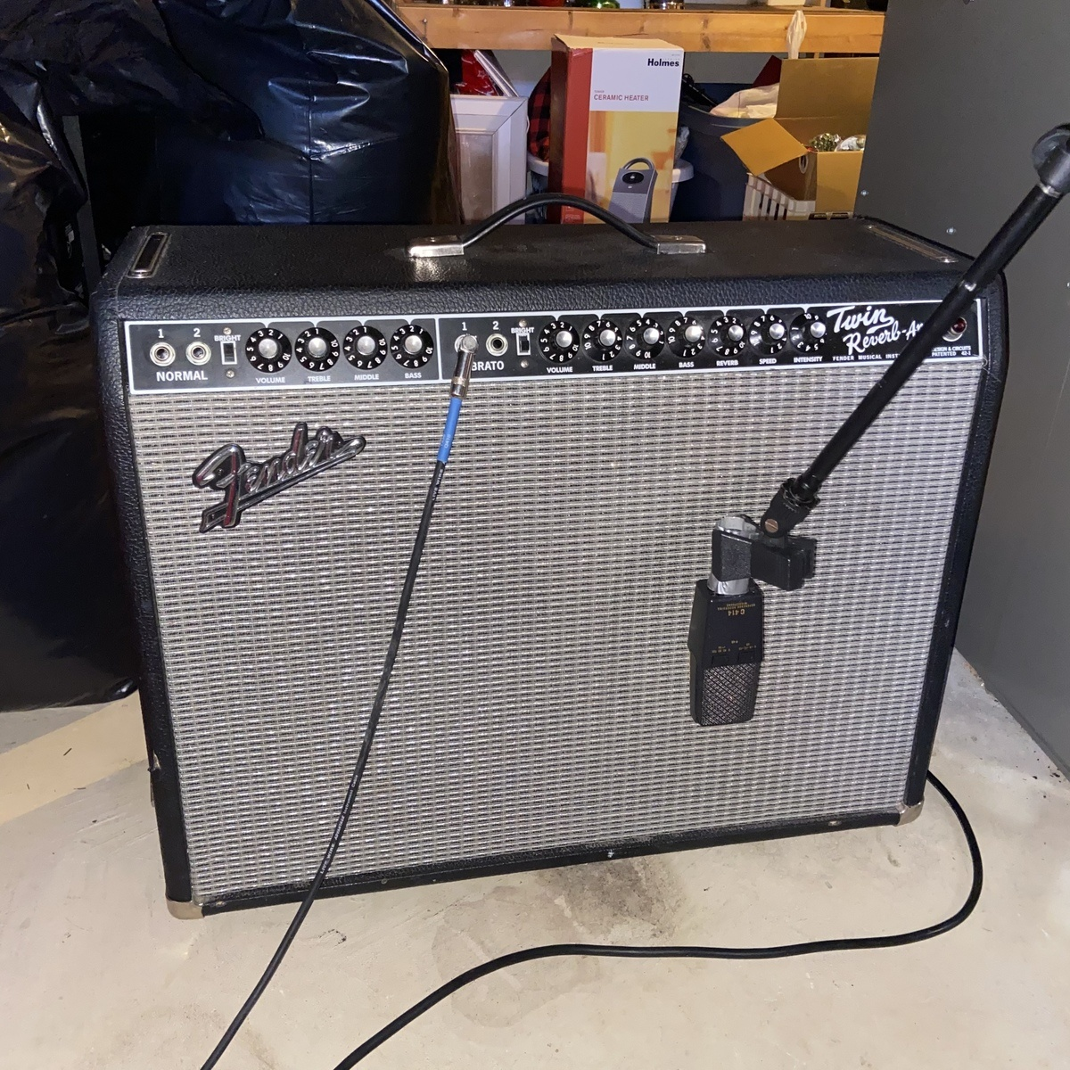 Photo of Fender  '65 Twin Reverb in a guitar and amplifier