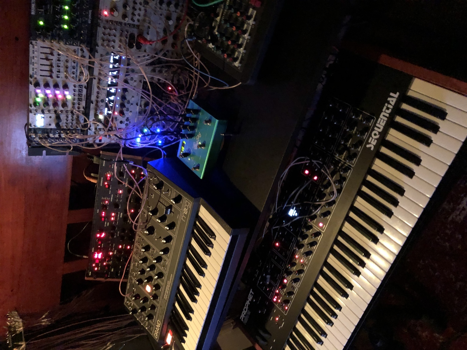 Photo of Dave Smith Instruments Sequential Prophet REV2 and more gear